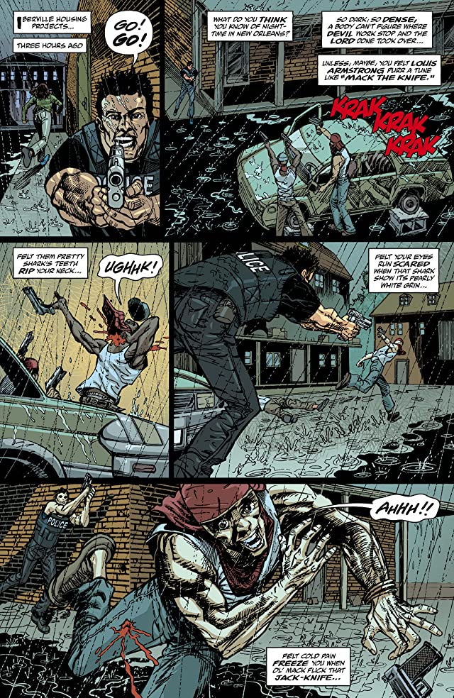 click for super-sized previews of Dominique Laveau: Voodoo Child #3