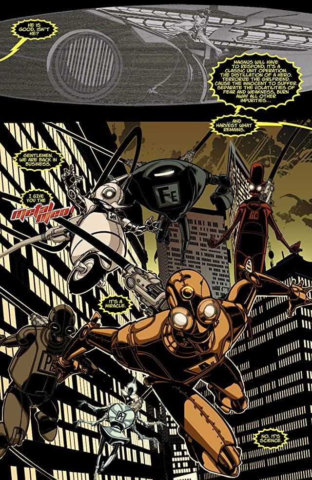 Metal Men (2007-2008) #4 (of 8)