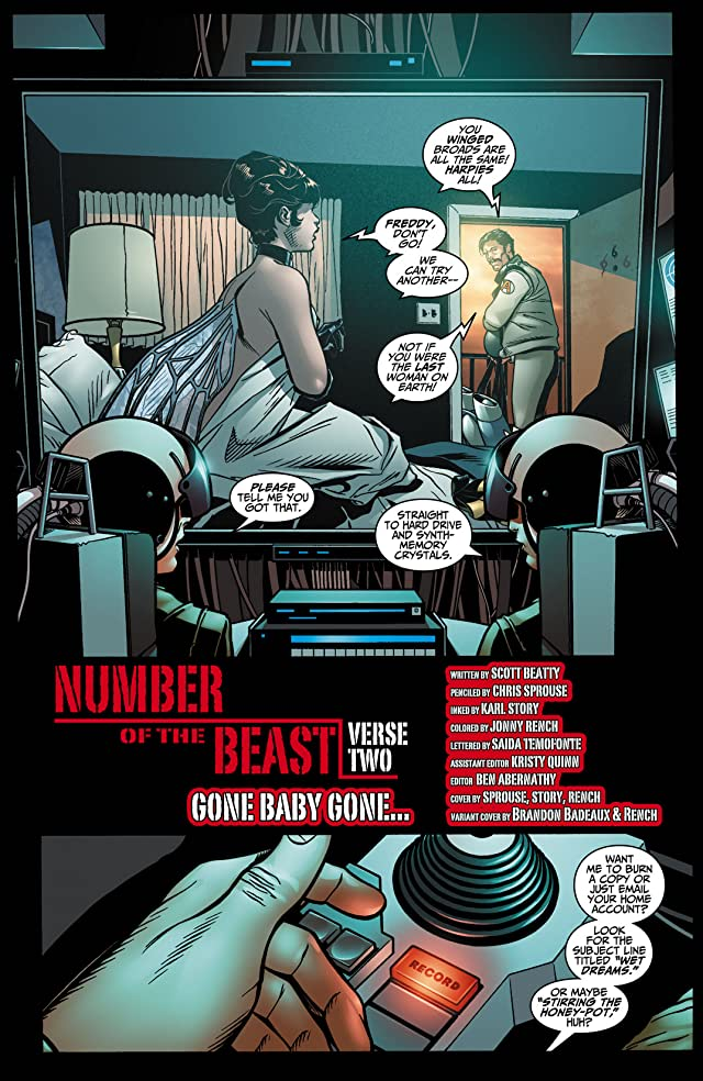 click for super-sized previews of Number of the Beast (2008) #2