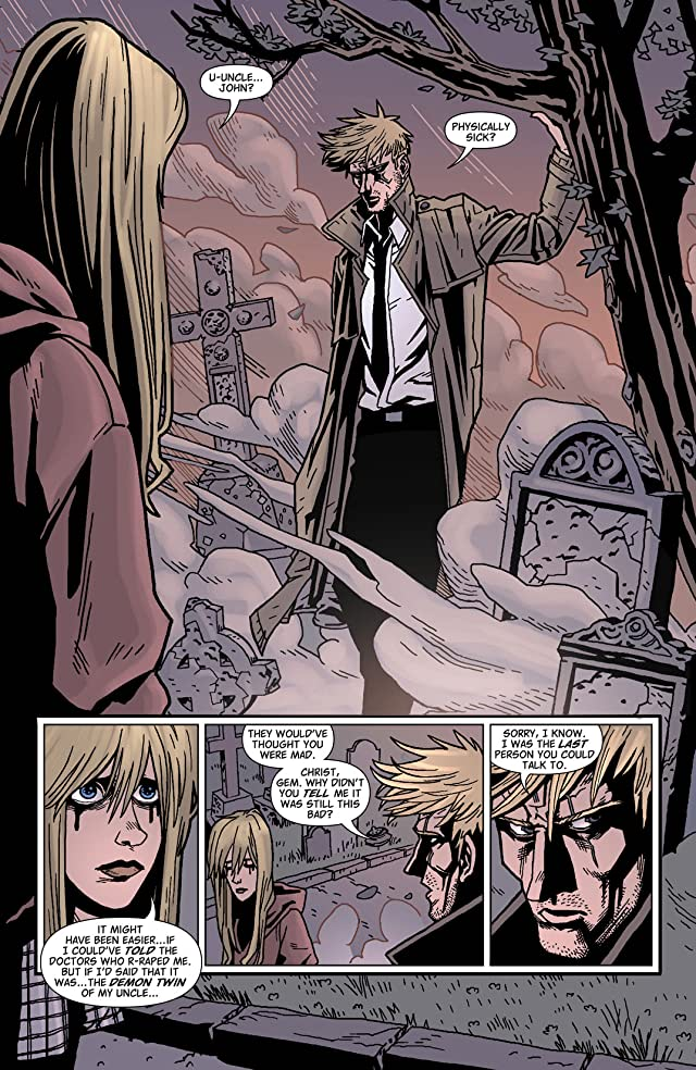 click for super-sized previews of Hellblazer #291