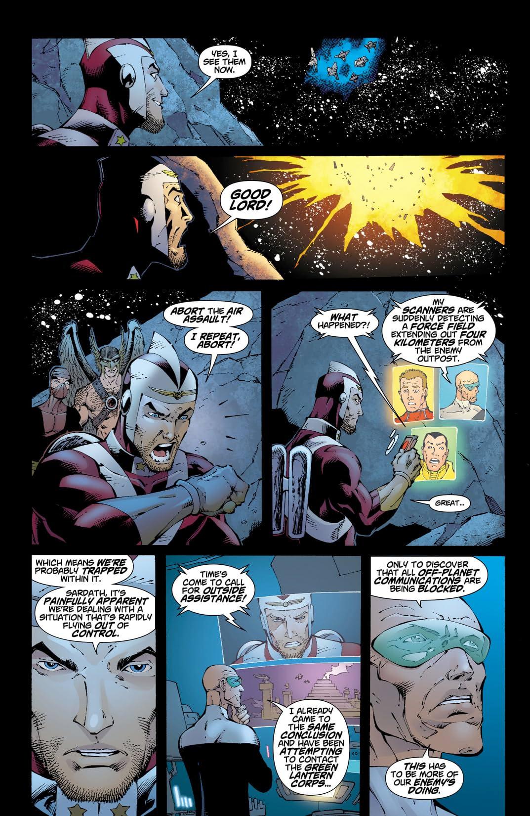 Rann-Thanagar Holy War #6 (of 8)