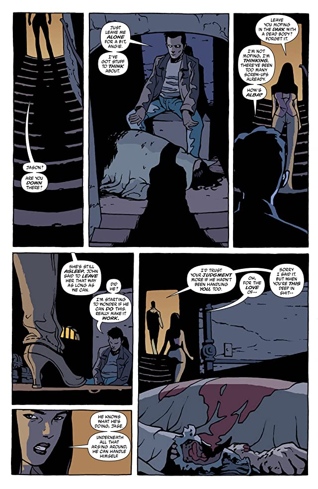 click for super-sized previews of Hellblazer #190
