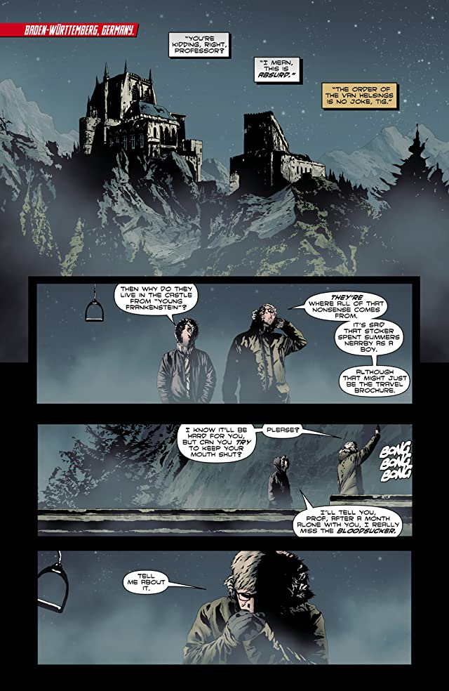 click for super-sized previews of I, Vampire (2011-2013) #9
