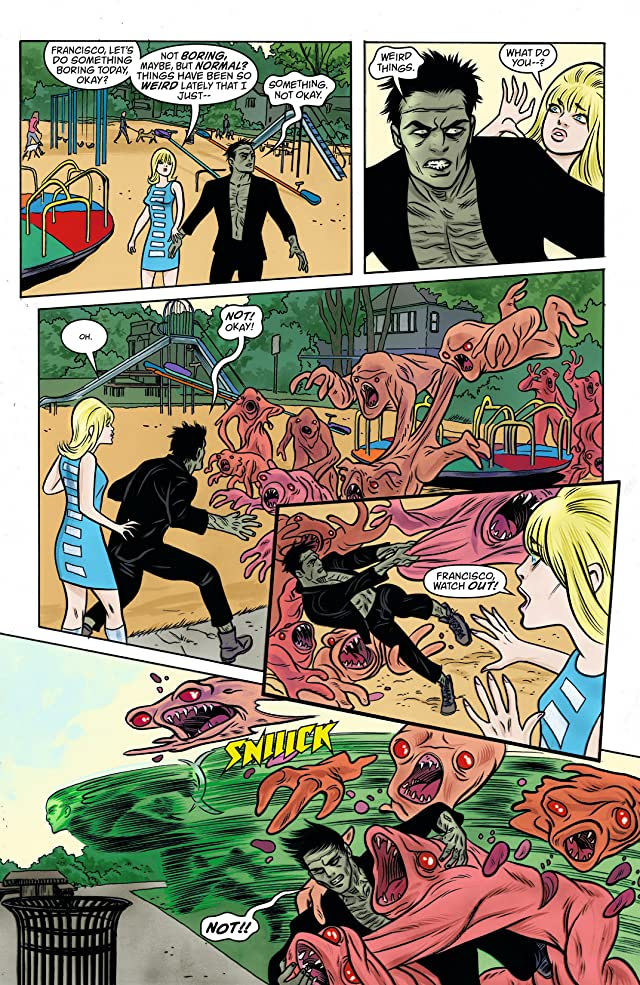 click for super-sized previews of iZombie #25