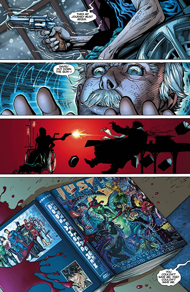 click for super-sized previews of Justice League (2011-) #9