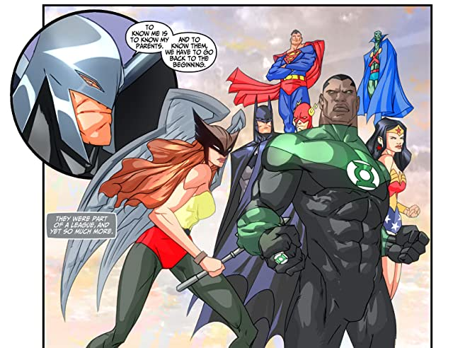 click for super-sized previews of Justice League Beyond (2012-2013) #7