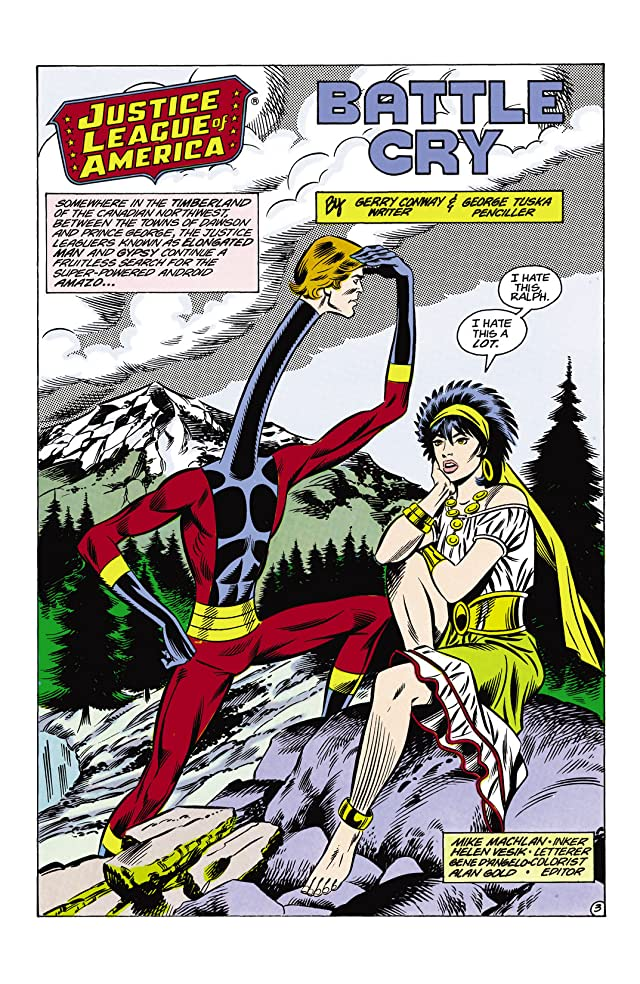 Justice League of America (1960-1987) #242
