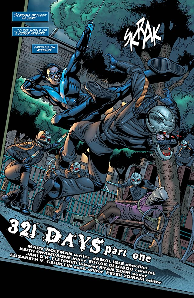 click for super-sized previews of Nightwing (1996-2009) #133