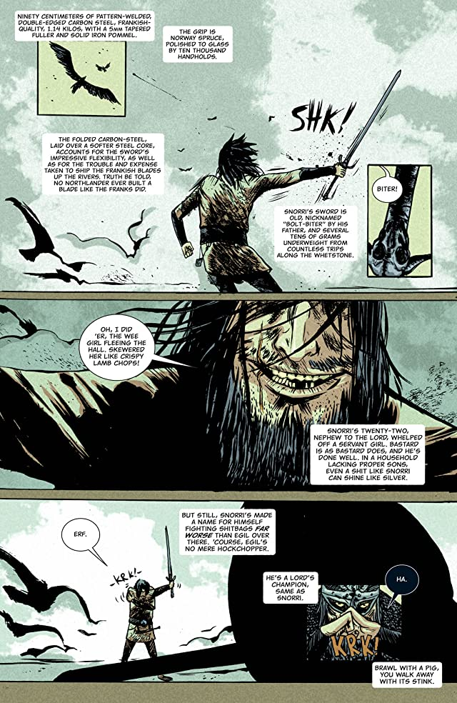 click for super-sized previews of Northlanders #17
