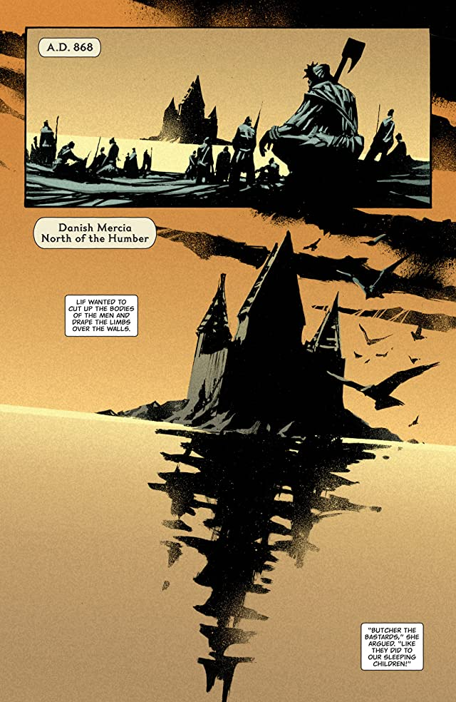 click for super-sized previews of Northlanders #19