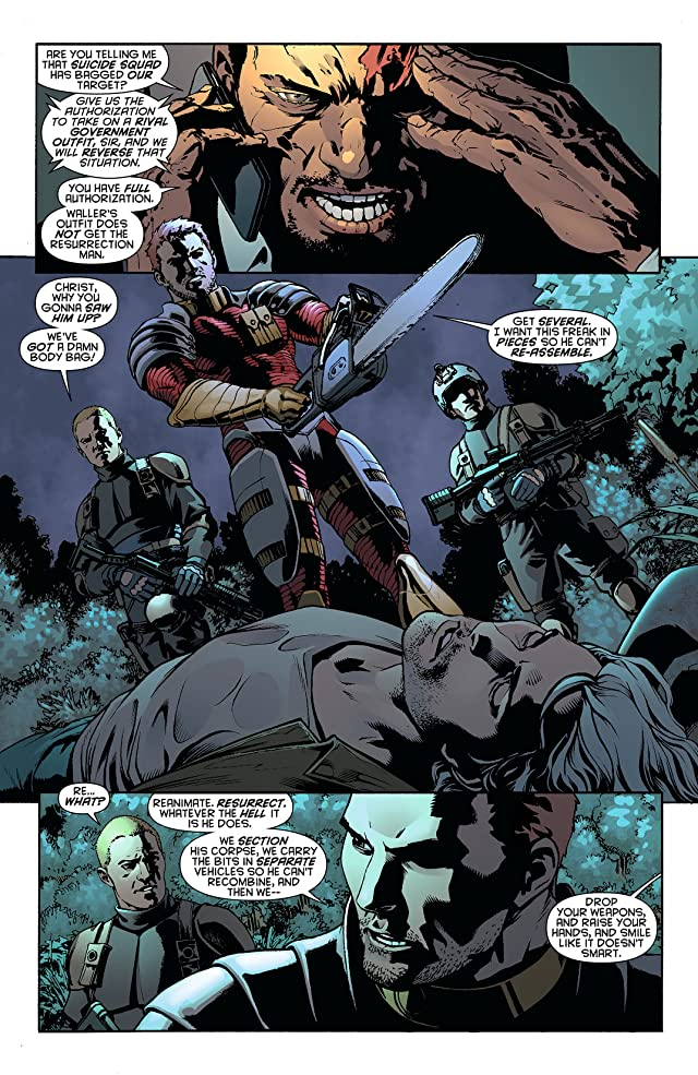click for super-sized previews of Resurrection Man (2011-2012) #9