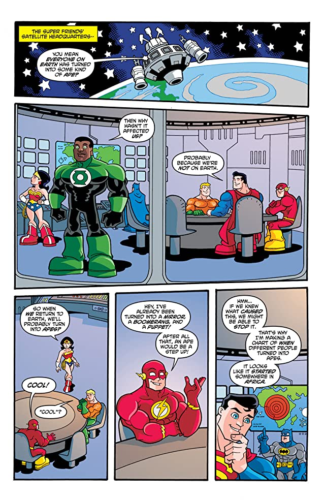 click for super-sized previews of Super Friends (2008-2010) #5