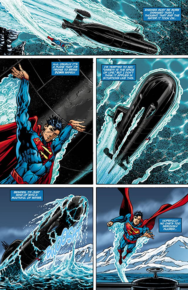 click for super-sized previews of Superman (2011-) #9