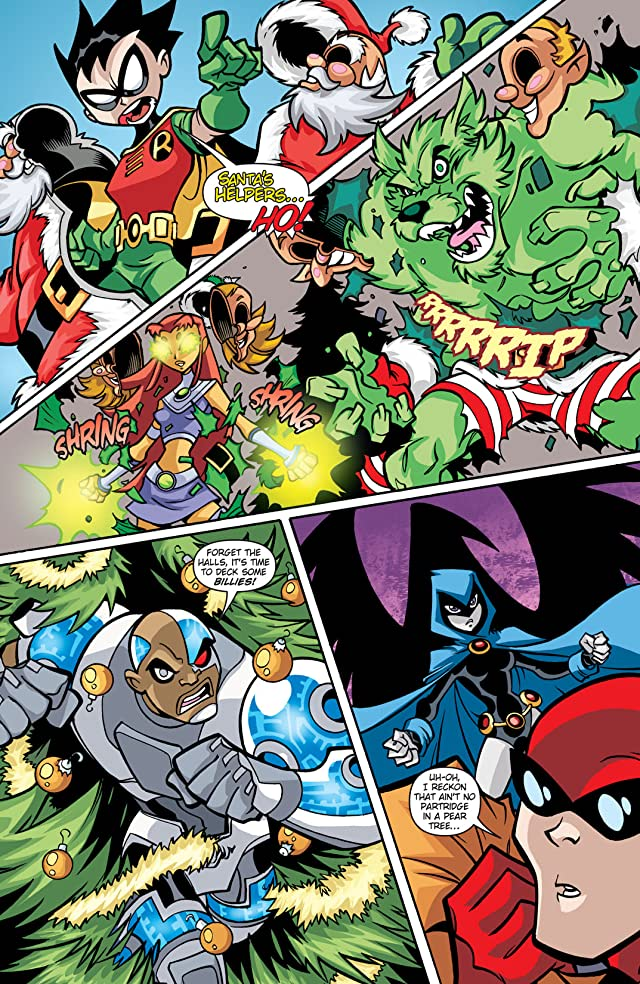 click for super-sized previews of Teen Titans Go! (2004-2008) #25