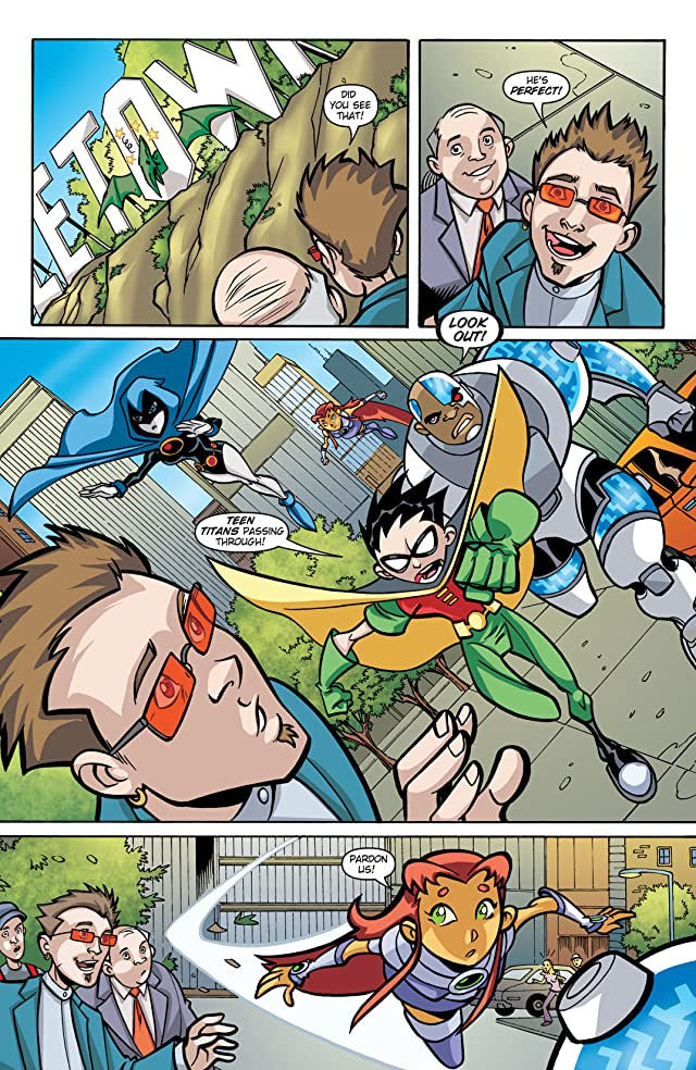 click for super-sized previews of Teen Titans Go! (2004-2008) #26