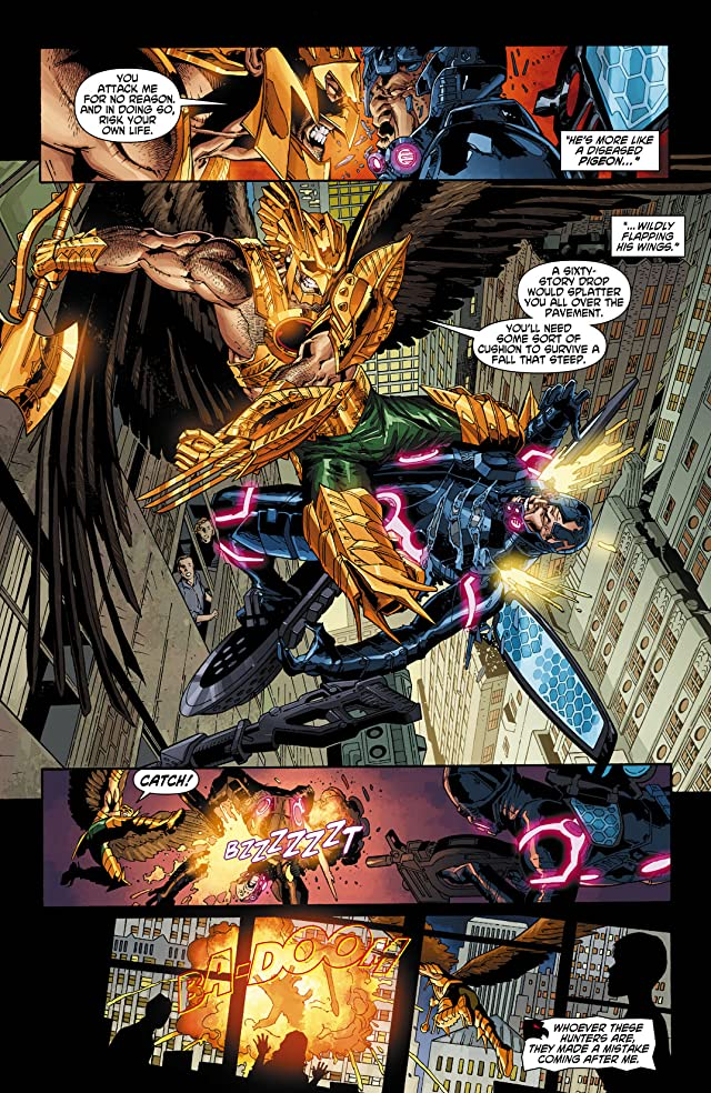 click for super-sized previews of The Savage Hawkman (2011-2013) #9