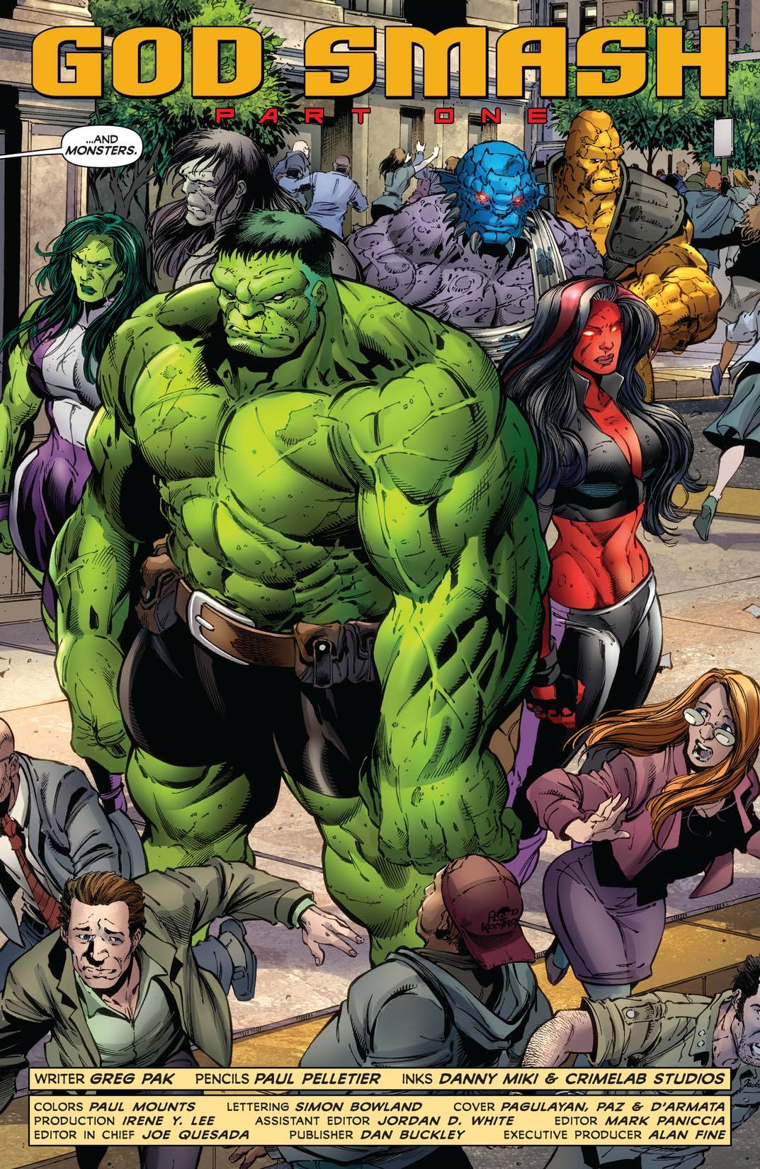 Incredible Hulks (1999-2008) #621