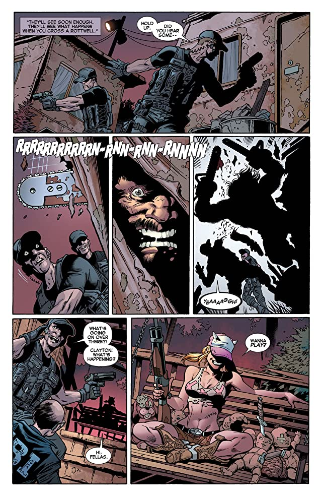 click for super-sized previews of Wolverine (2010-2012) #308
