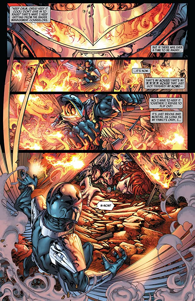 click for super-sized previews of War of Kings: Darkhawk #2
