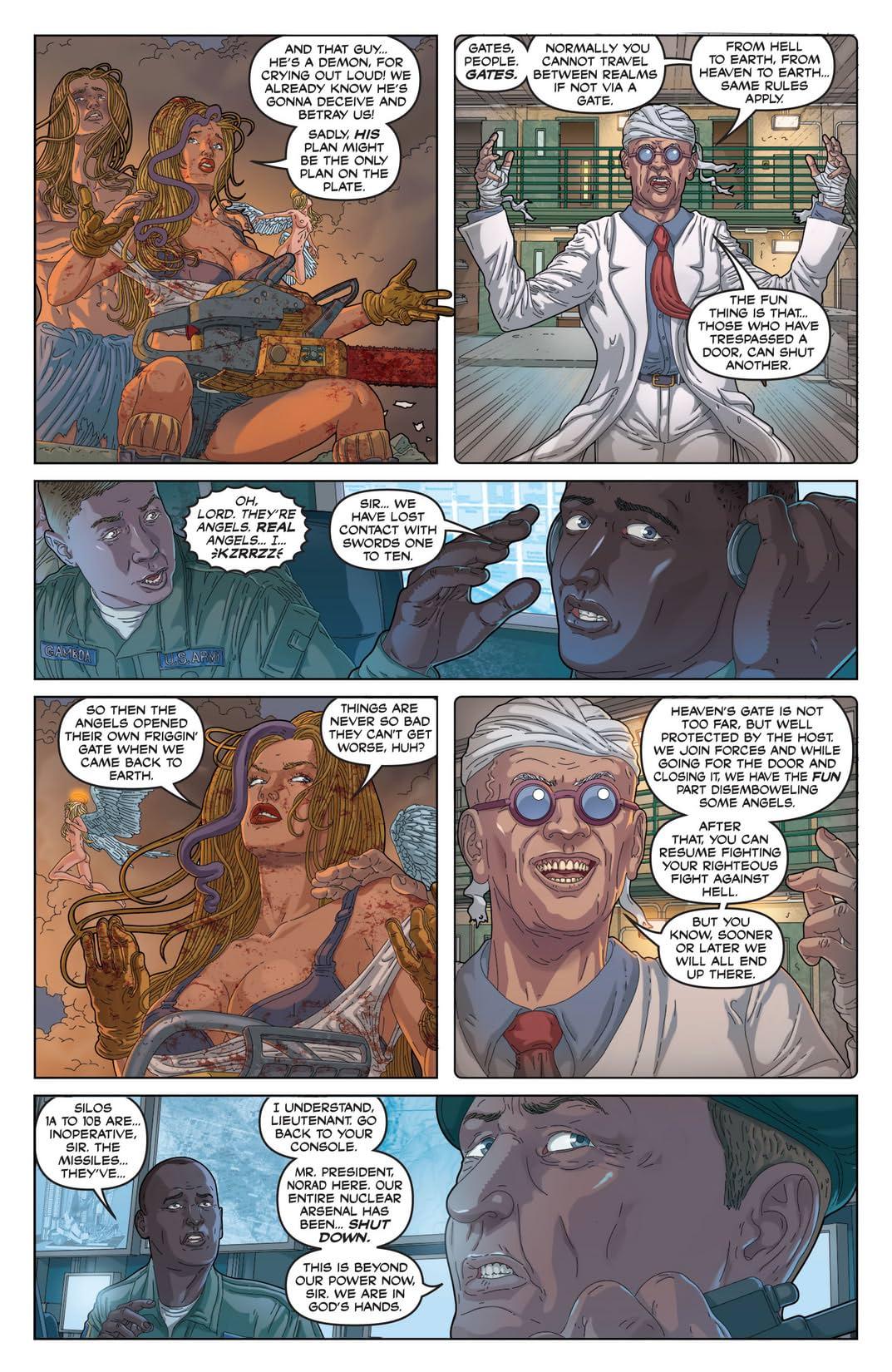 Nancy In Hell On Earth #3 (of 4)