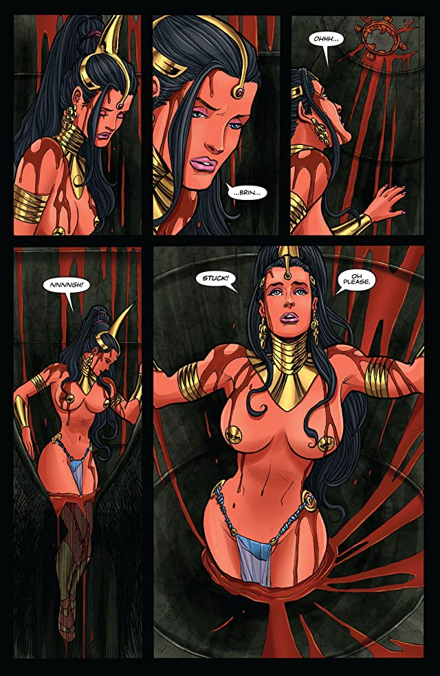 click for super-sized previews of Dejah Thoris and the White Apes of Mars #3