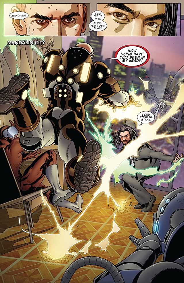 click for super-sized previews of Invincible Iron Man (2008-2012) #519