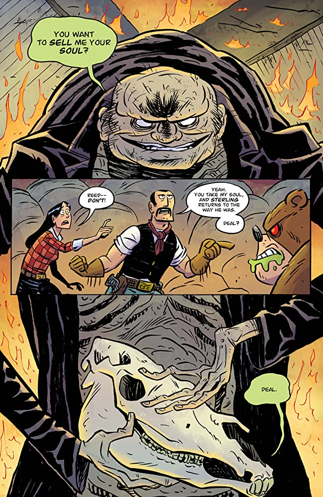 click for super-sized previews of Reed Gunther #10