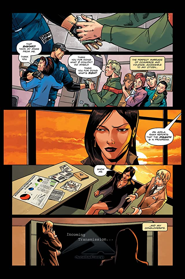 JFH: Justice For Hire #0: Rise of Retribution