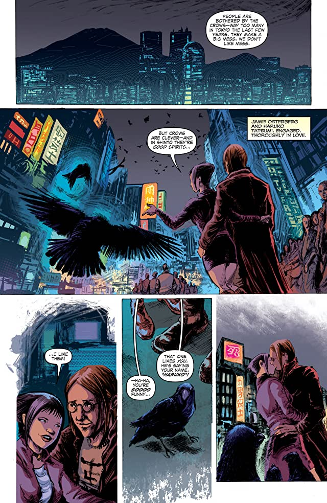 click for super-sized previews of The Crow #1