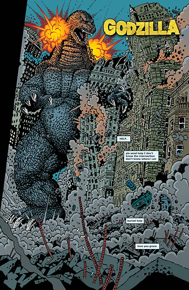click for super-sized previews of Godzilla (2011-2013) #2