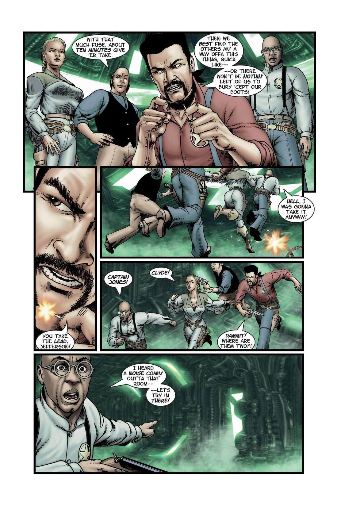 The Misadventures of Clark & Jefferson #4