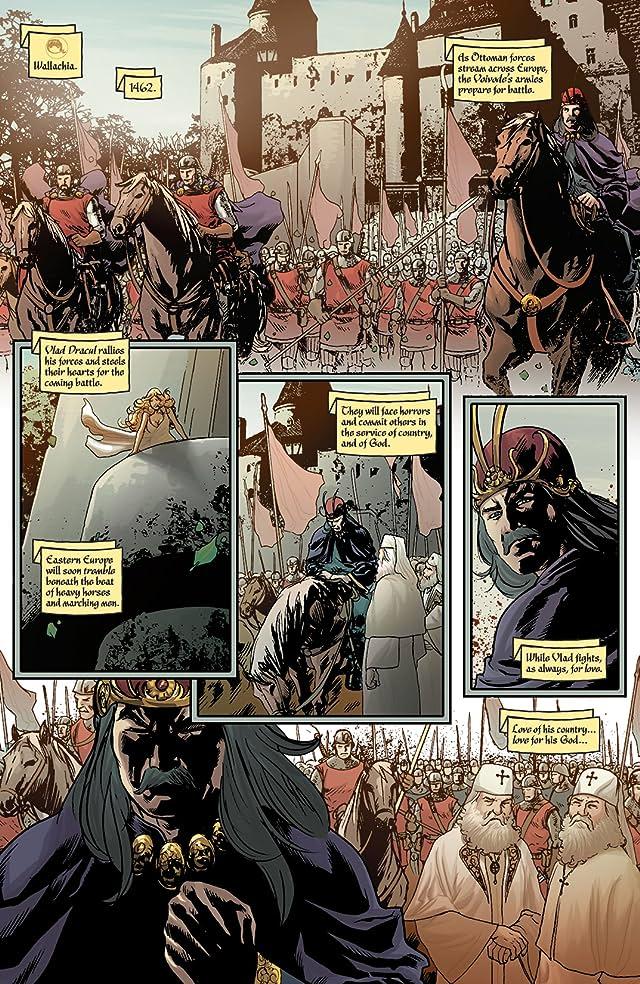 click for super-sized previews of Vampirella vs. Dracula #5
