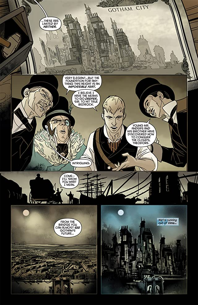 click for super-sized previews of Batman: Gates of Gotham #1 (of 5)
