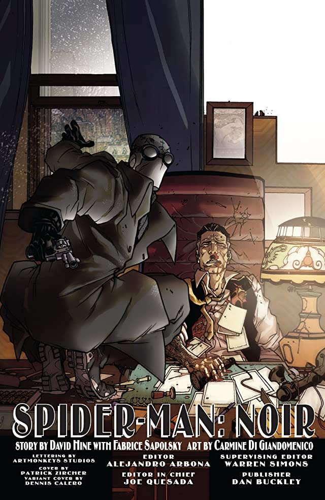 click for super-sized previews of Spider-Man Noir #1