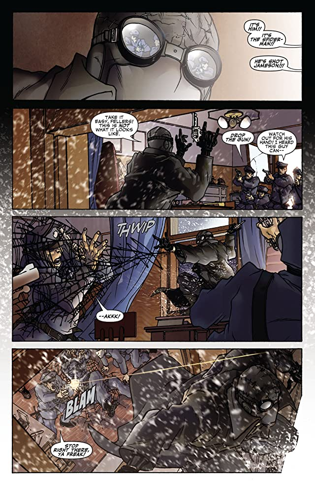 click for super-sized previews of Spider-Man Noir #1 (of 4)