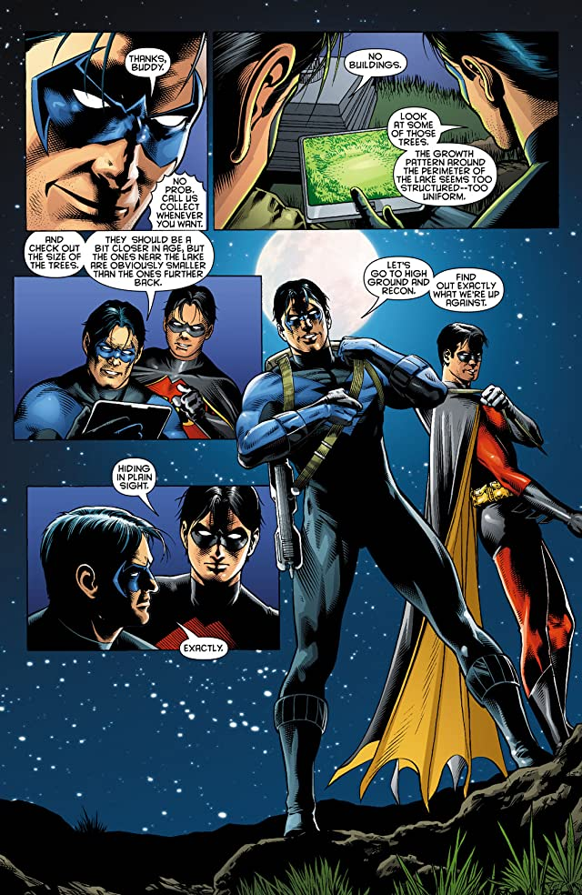 click for super-sized previews of Nightwing (1996-2009) #143