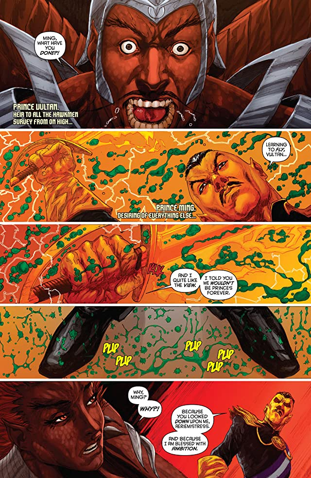 click for super-sized previews of Merciless: the Rise of Ming #2