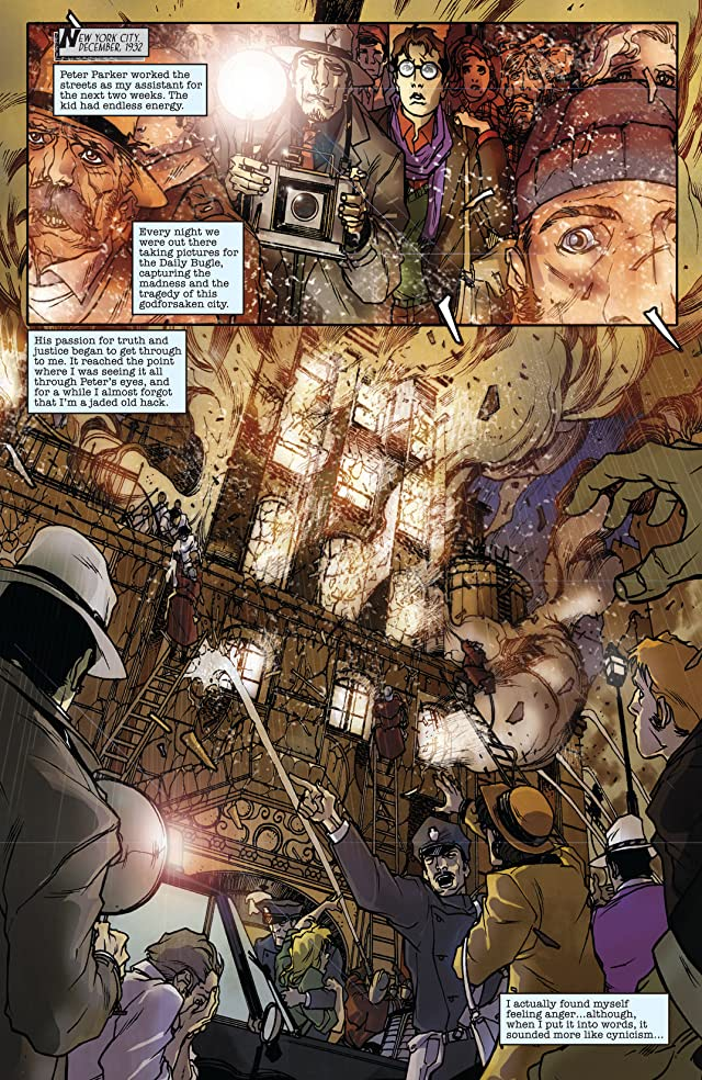 click for super-sized previews of Spider-Man Noir #2 (of 4)