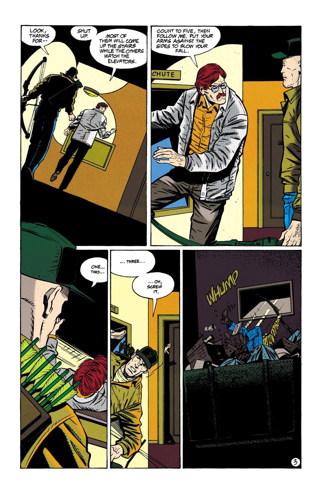Green Arrow (1988-1998) #92