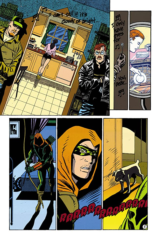 click for super-sized previews of Green Arrow (1988-1998) #93