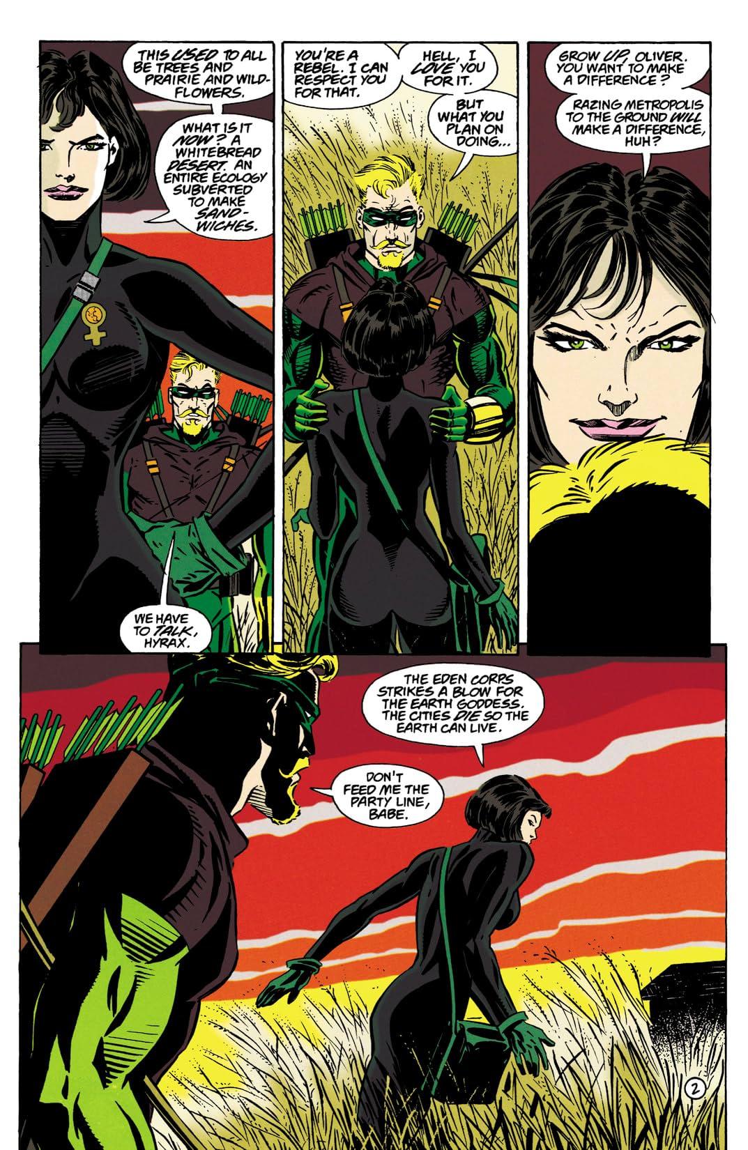 Green Arrow (1988-1998) #100