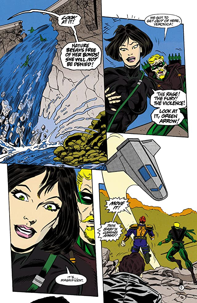 click for super-sized previews of Green Arrow (1988-1998) #99