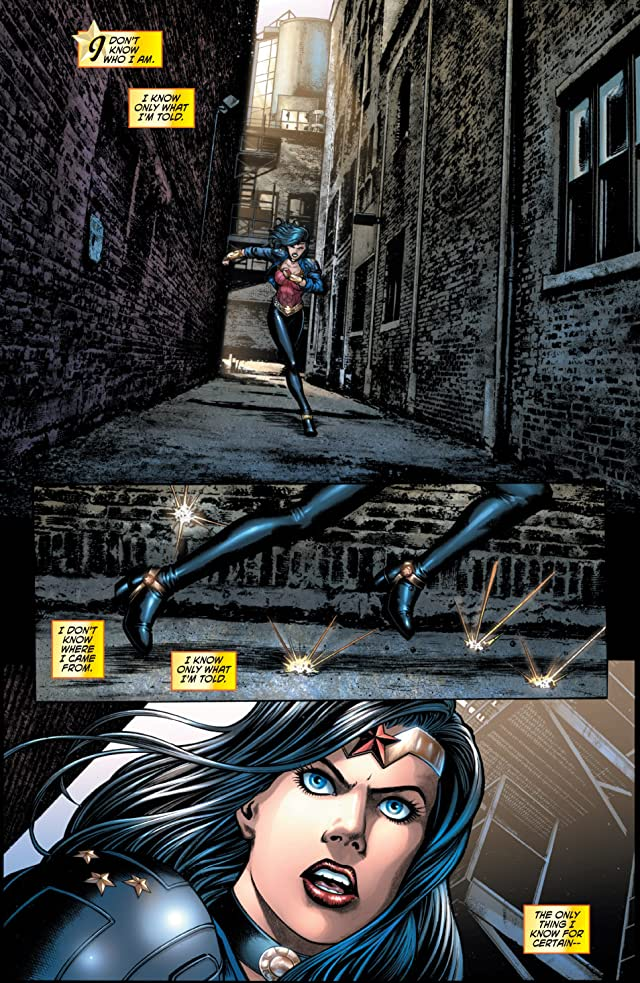 click for super-sized previews of Wonder Woman (2006-2011) #600: Preview