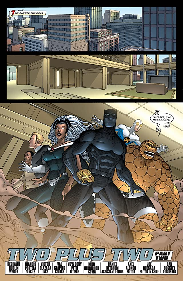 click for super-sized previews of Black Panther (2005-2008) #27
