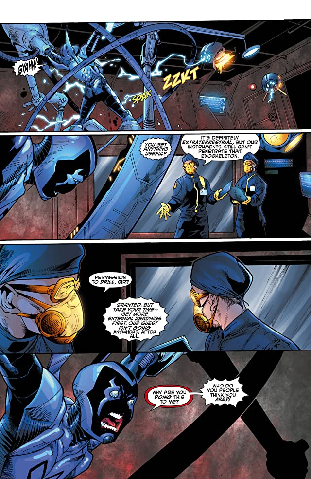 click for super-sized previews of Blue Beetle (2011-2013) #10