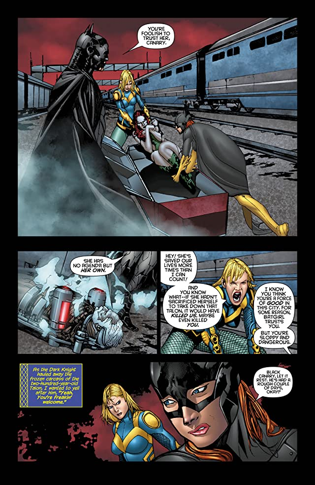 click for super-sized previews of Birds of Prey (2011-2014) #10