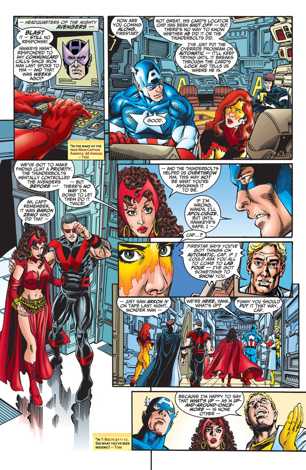 Avengers (1998-2004) #12