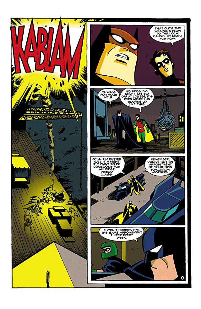 click for super-sized previews of Batman & Robin Adventures (1995-1997) #1