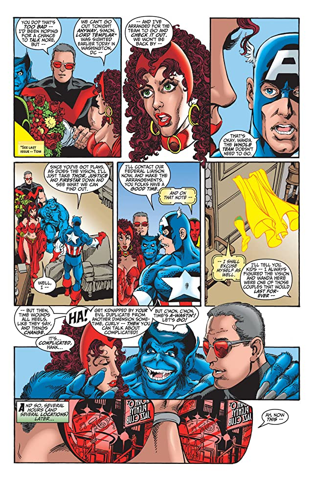 click for super-sized previews of Avengers (1998-2004) #14