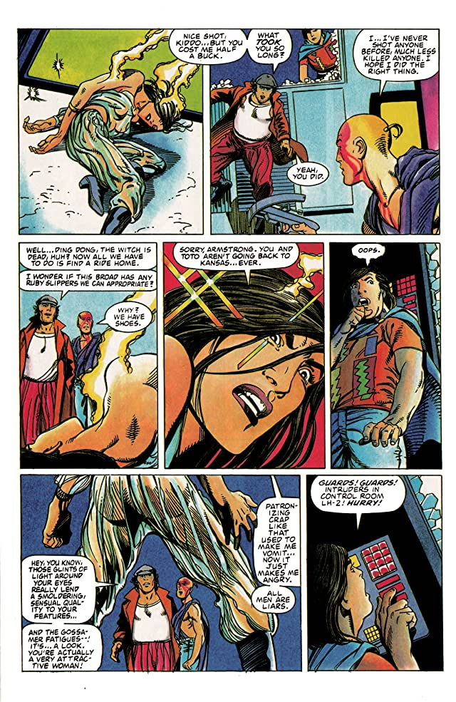 click for super-sized previews of Archer & Armstrong (1992-1994) #2